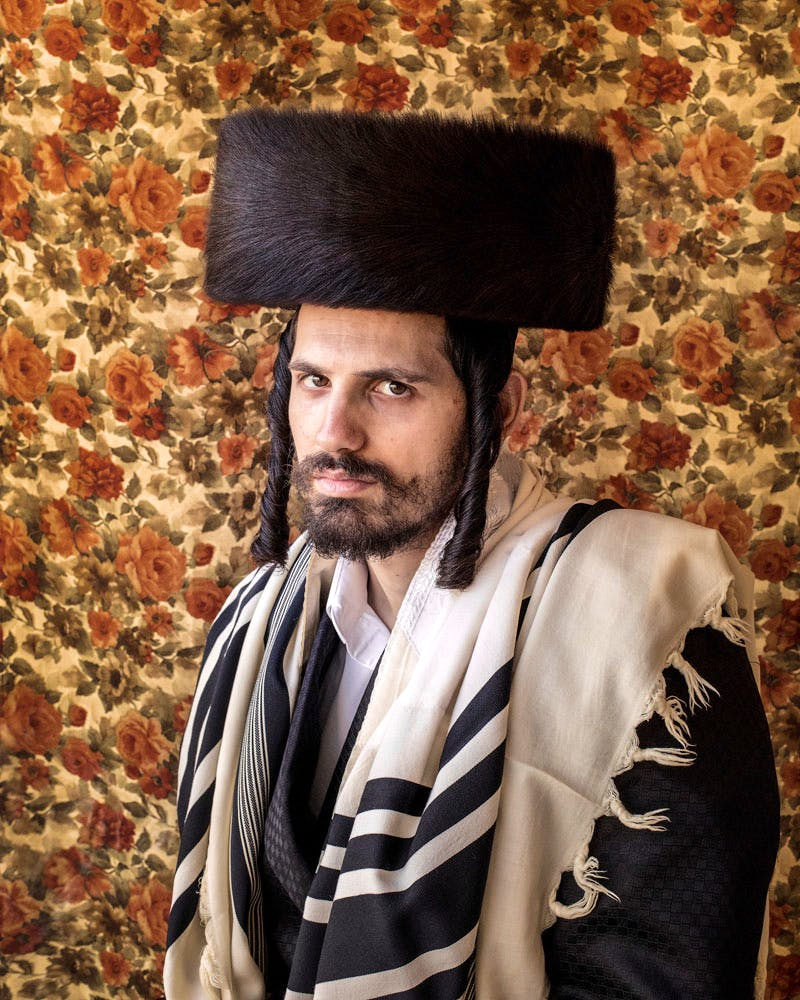 Shimi Beitar Illit, by Kovi Konowiecki, from the series 'Bei Mir Bistu Shein'.