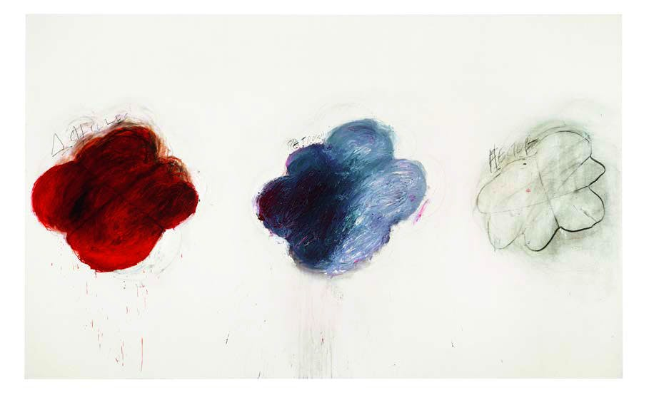 Fifty Days at Iliam Shades of Achilles, Patroclus and Hector (1978), Cy Twombly © Courtesy of Philadelphia Museum of Art, Philadelphia