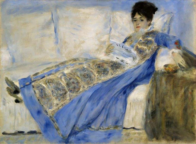Portrait of Madame Claude Monet
