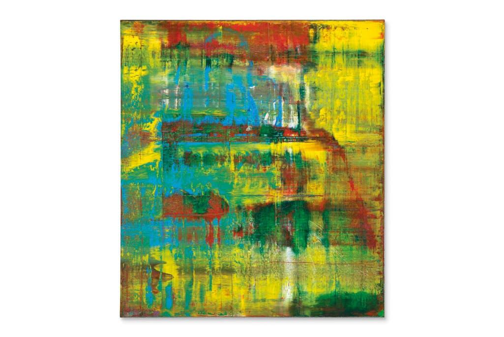 Abstraktes Bild (1994), Gerhard Richter. Courtesy Christie's New York