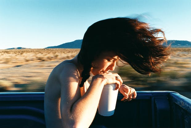 Dakota (Hair), (2004), Ryan McGinley.