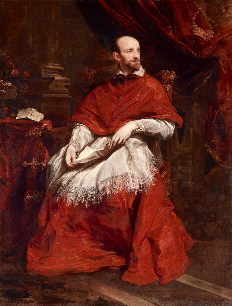 Cardinal Guido Bentivoglio (1623), Anthony van Dyck. Apollo Awards 2016, Exhibition of the Year Shortlist