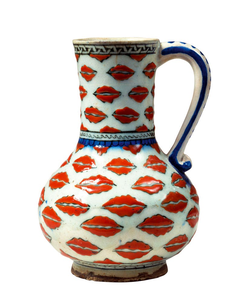 Jug (c. 1575), Turkey, Iznik. David Collection, Copenhagen