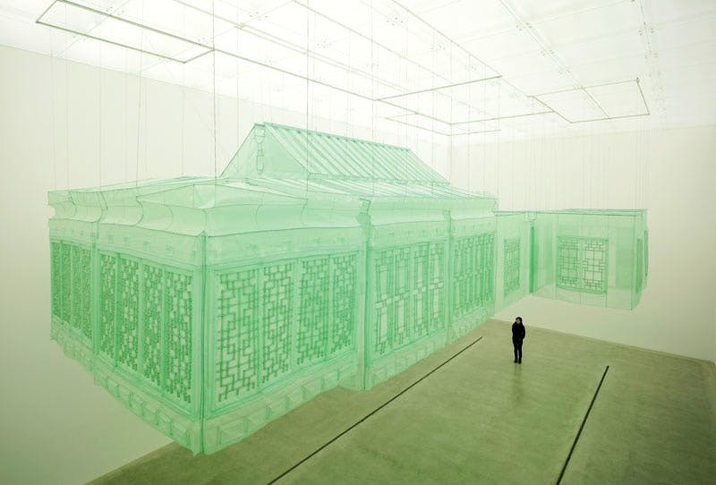 Seoul Home/Seoul Home/Kanazawa Home/Beijing Home (2012), Do Ho Suh. Photo: Jeon, Taegsu; © Do Ho Suh