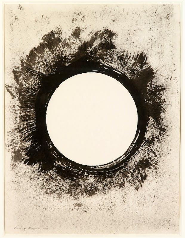 Untitled, (1946), Barnett Newman. Courtesy Louisiana Museum of Modern Art