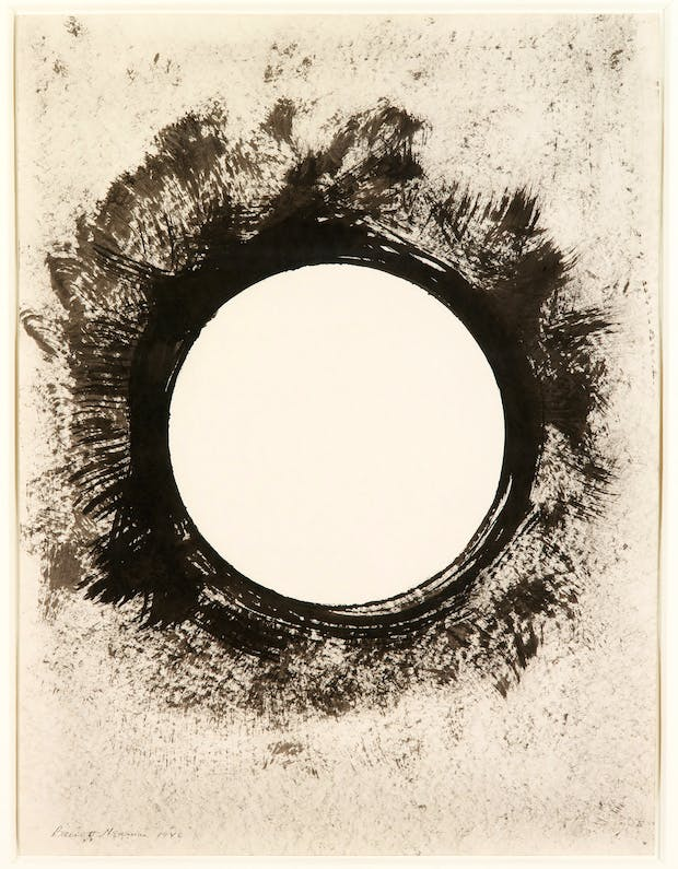 Untitled, (1946), Barnett Newman. Courtesy Louisiana Museum of Modern Art