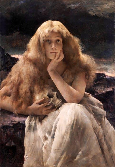 , (1887), Alfred Stevens.