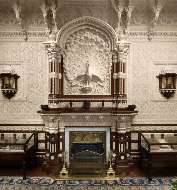 Durbar Hall at Osborne designed by Bhai Ram Singh and Lockwood Kipling in 1890.