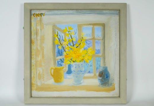 Easter Monday (c. 1950), Winifred Nicholson.
