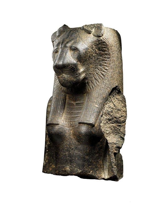 Bust of the goddess Sekhmet, Egyptian Sotheby's New York ($3m–$5m)