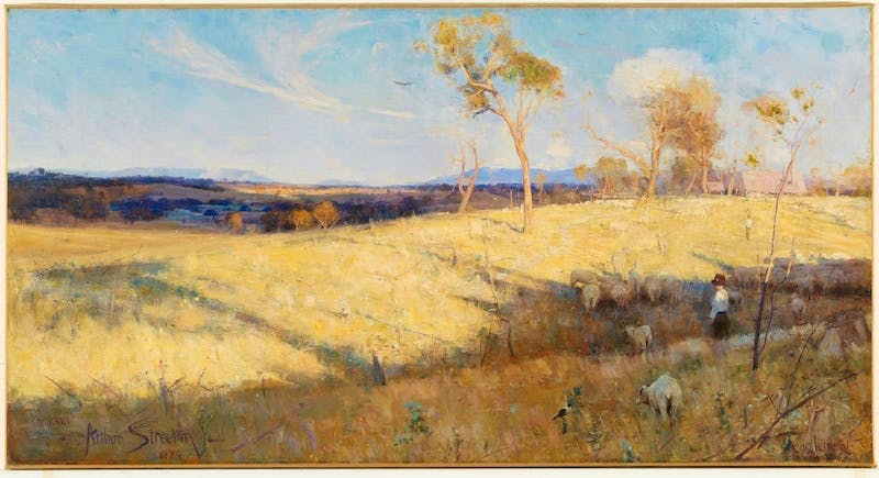 Golden Summer, Eaglemont, 1889