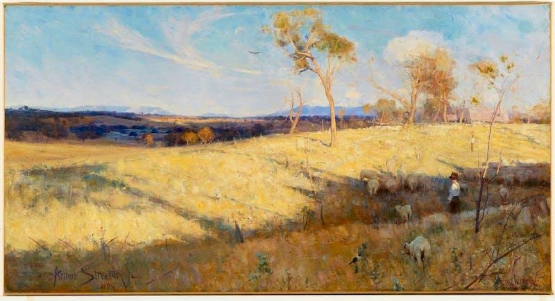 Golden Summer, Eaglemont, 1889