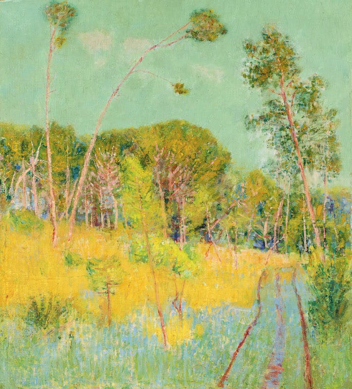 A Clearing in the Forest [Belle Ile], 1891