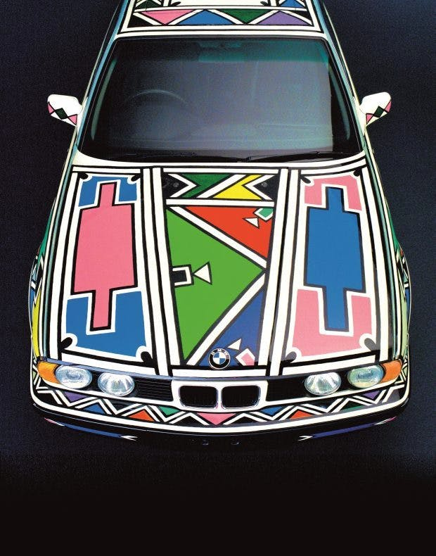 (detail), (1991), Esther Mahlangu.