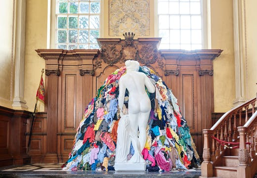 Venus of the Rags (1964–2016), Michelangelo Pistoletti. Photo: Tom Lindboe. Courtesy of the Blenheim Art Foundation