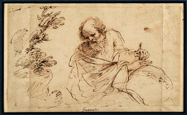 Guercino at Master Drawings New York 2017