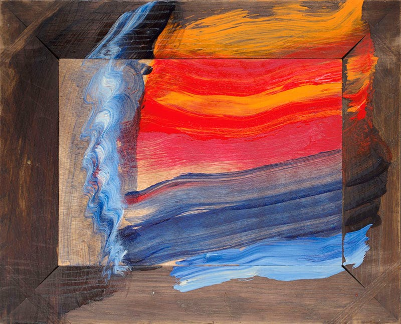 Bombay Morning (2015–16), Howard Hodgkin. Courtesy the artist, Gagosian and The Hepworth Wakefield. © Howard Hodgkin