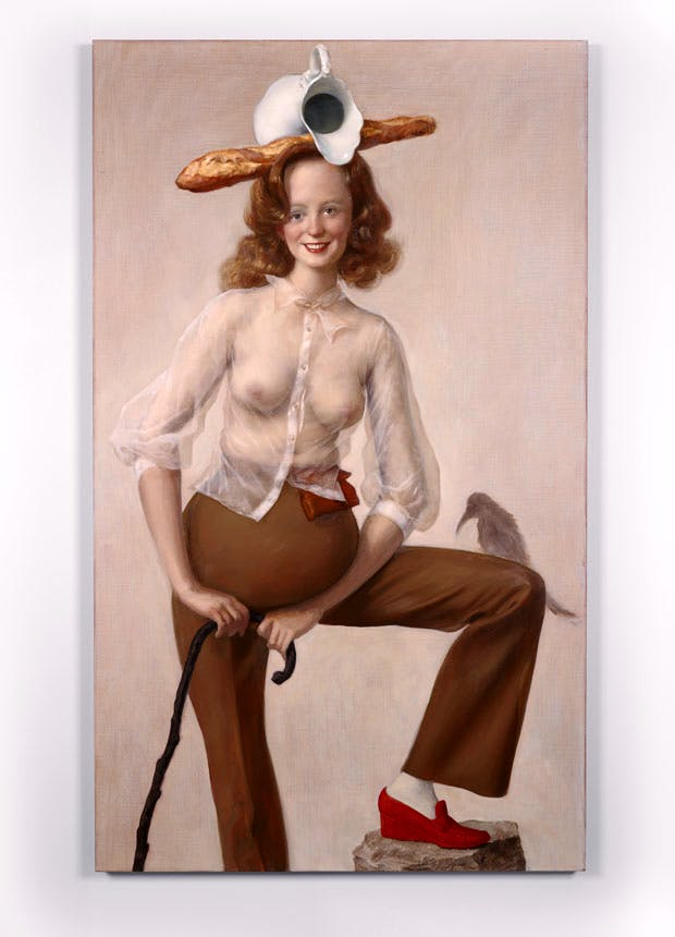 Red Shoe (2016), John Currin. © the artist. Courtesy Sadie Coles HQ, London