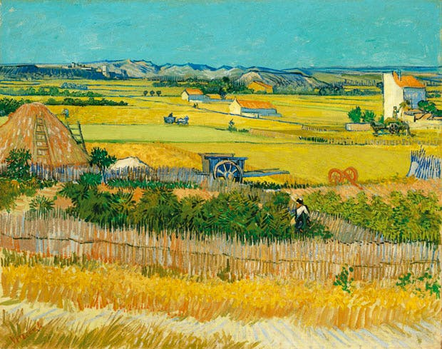 The Harvest, 1888, Vincent van Gogh