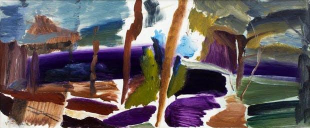 Forest Shelter (1961), Ivon Hitchens. Courtesy of Austin Desmond Fine Art