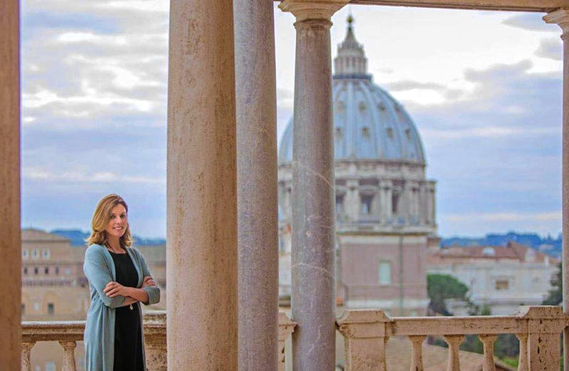 Barbara Jatta is the new director of the Vatican Museums