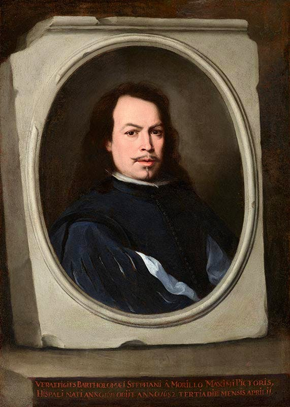 Self-Portrait (c. 1650–55), Bartolomé Esteban Murillo. Photo: Michael Bodycomb