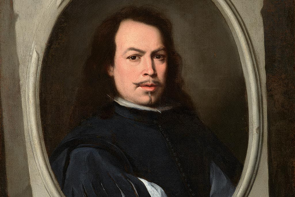 Self-Portrait (detail; c. 1650–55), Bartolomé Esteban Murillo. © The Frick Collection