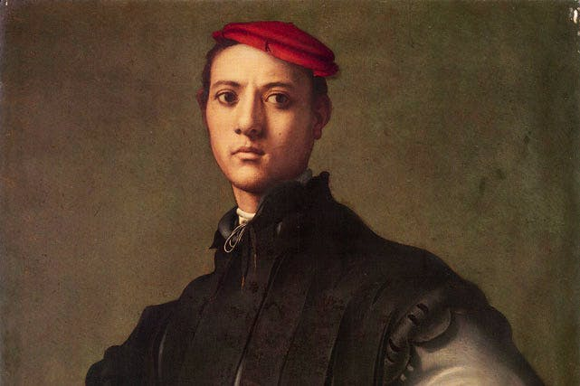 Portrait of a Young Man in a Red Cap (Detail) c.1529, Jacopo Pontormo. The National Gallery's matching offer to buy the painting has been rejected.