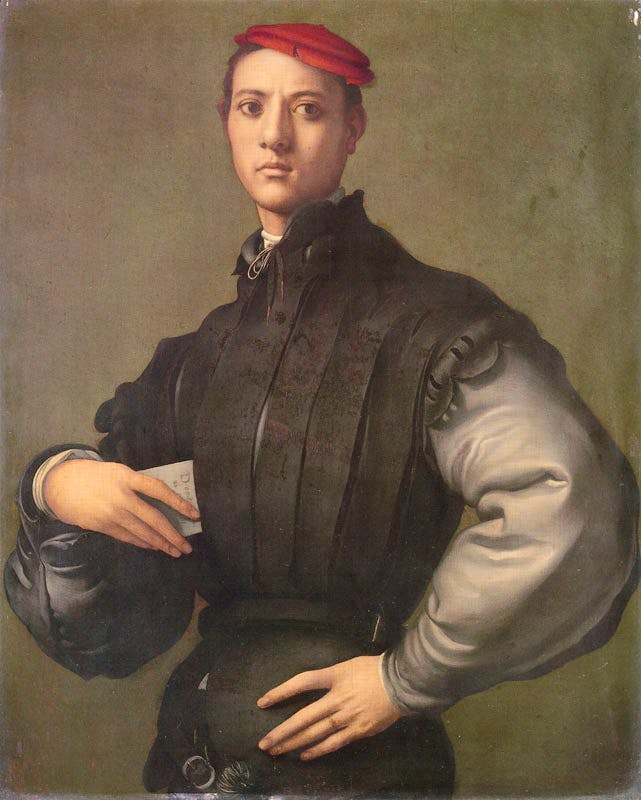 Portrait of a Young Man in a Red Cap (1530), Pontormo