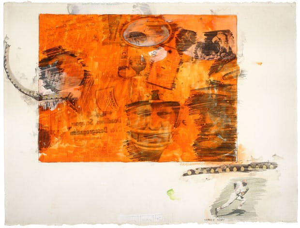 Orange Body (1969), Robert Raschenberg. © DACS