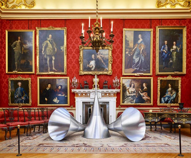 The Trumpets of Judgement (1968–86), Michelangelo Pistoletto. Photo: Tom Lindboe. Courtesy of the Blenheim Art Foundation