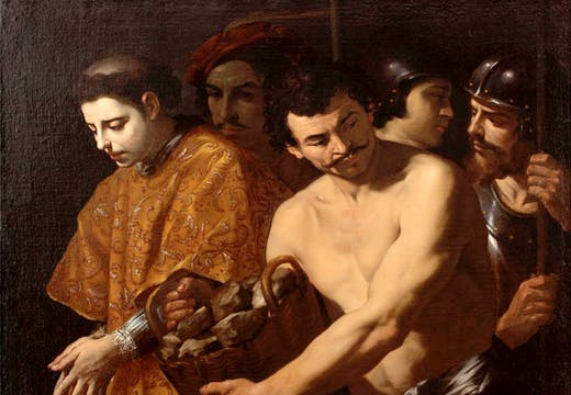 St Stephen taken to his Martyrdom, (c. 1625-30), Andrea Vaccaro