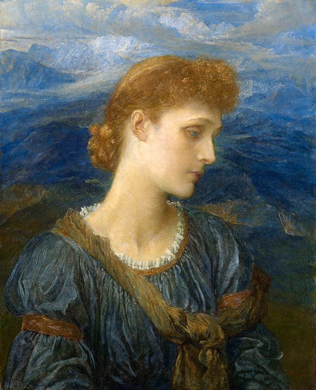 Violet Lindsay, later Marchioness of Granby (c. 1879), G.F. Watts. Watts Gallery Trust