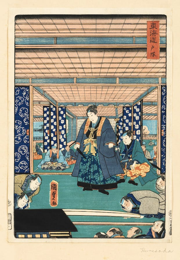 Untitled (c. 1807-1844), Utagawa Kunisada. © William Morris Gallery, London Borough of Waltham Forest