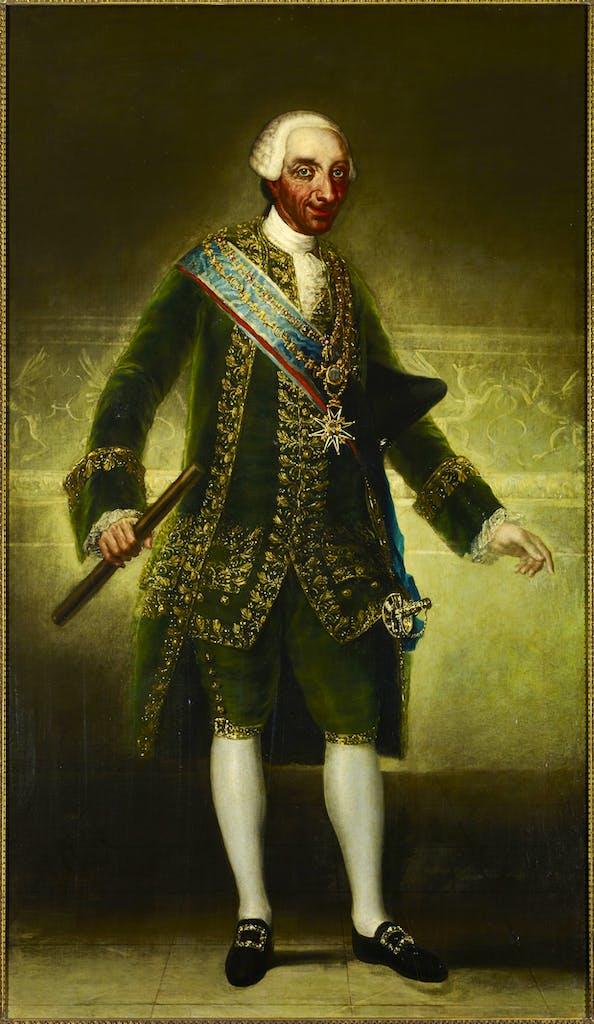 Charles III (1786–87), Francisco de Goya y Lucientes.