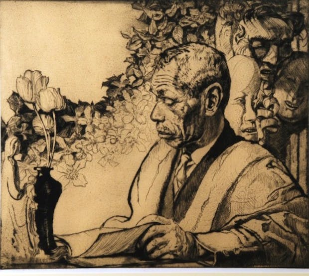 Portrait of Yamanaka (c. 1931), Frank Brangwyn. © William Morris Gallery, London Borough of Waltham Forest