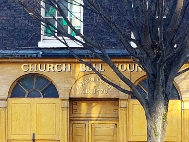 The Whitechapel Bell Foundry, whose history dates back to 1420, is to close its premises in May 2017