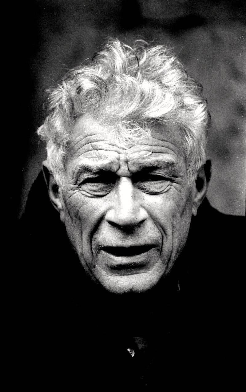 Portrait of John Berger by his longstanding collaborator, the Swiss photographer Jean Mohr. © Jean Mohr