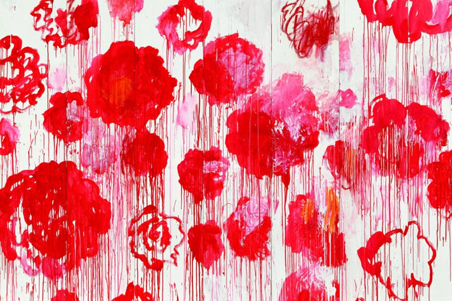 Blooming (2001-08), Cy Twombly