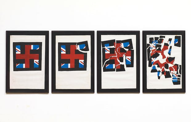 Destruction of the National Front (1979-80), Eddie Chambers. © Tate, London 2015