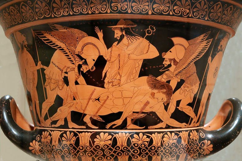 The Euphronios Krater was acquired by the Metropolitan Museum of Art in 1972 and returned to Italy in 2008.