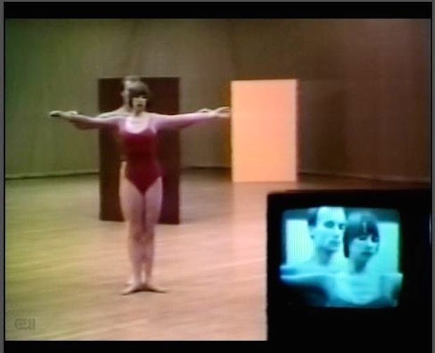 Fractions I (still) (1978), Charles Atlas and Merce Cunningham. © Charles Atlas, courtesy of the artist and Luhring Augustine, New York