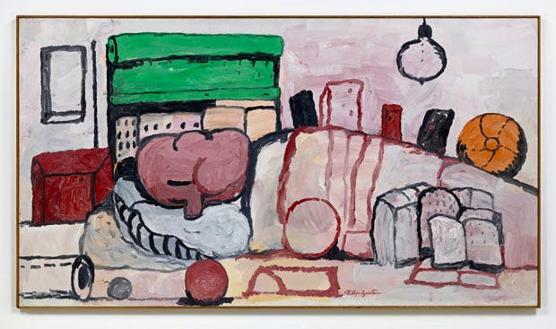 Alone (1971), Philip Guston. Image © The Estate of Philip Guston. Courtesy Hauser & Wirth