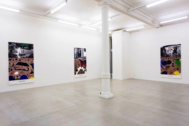 Installation view of 'John Baldessari: Miró and Life in General' at Marian Goodman Gallery, London. © John Baldessari. Courtesy the artist and Marian Goodman Gallery, New York, Paris & London. Photo: Thierry Bal