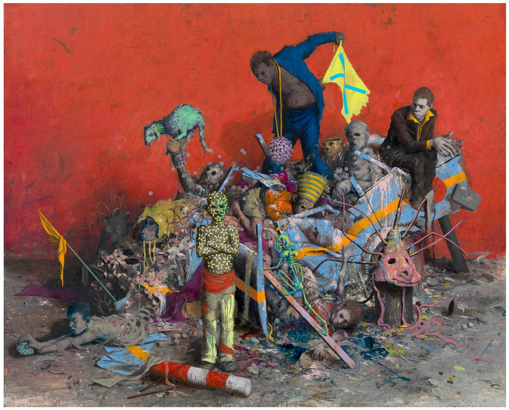Stückfrass (2013), Jonas Burgert. Courtesy the artist and Blain|Southern. Photo: Lepkowski Studios