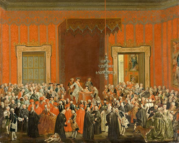 Charles III Renouncing the Crown of Naples