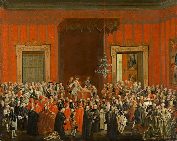 Charles III Renouncing the Crown of Naples
