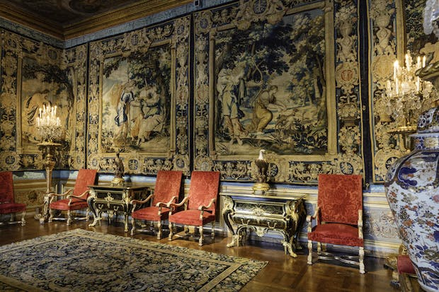 The Salon des Muses at Vaux-le-Vicomte