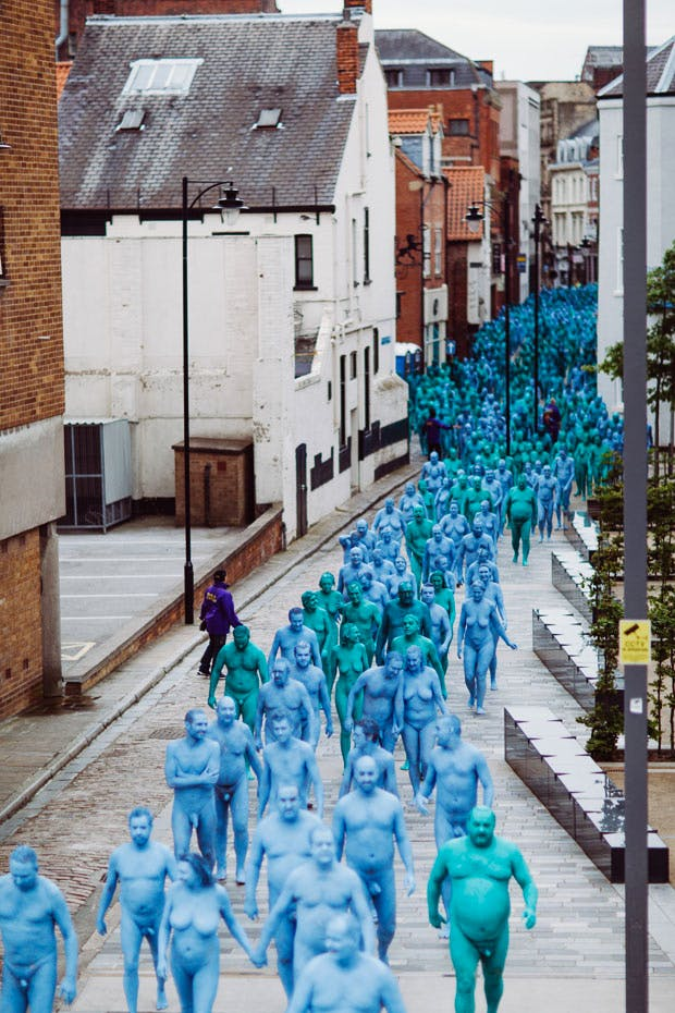 Sea Of Hull (9 July 2016), Spencer Tunick. Courtesy of Ferens Art Gallery