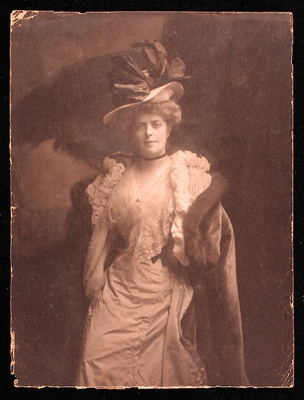 Photograph of Adèle Meyer, Private collection. Image provided by Cultural Heritage Digitisation Ltd